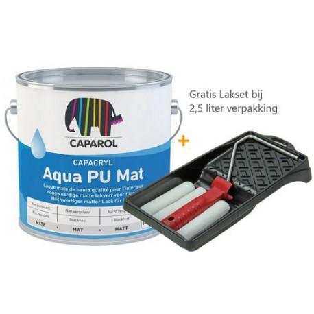 Caparol Capacryl Aqua PU Mat met Lakset
