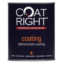 CoatRight Aqua Dakrenovatie Coating 5 Liter
