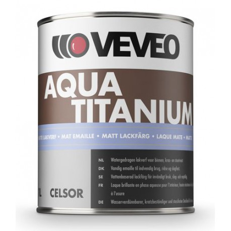 Veveo Celsor Aqua Titanium Mat 1 Ltr