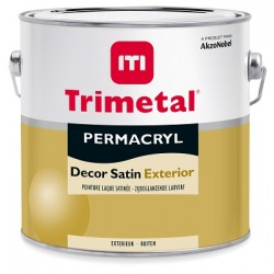 Trimetal Permacryl Decor Satin Exterior