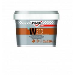 Polyfilla Pro W210 2K Watergedragen Houtvulmiddel 500ml