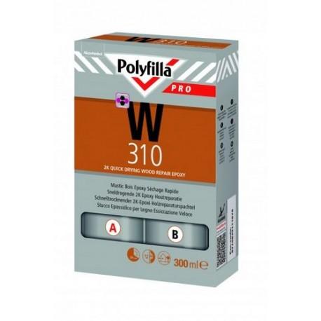Polyfilla Pro W310 2K Epoxy Houtreparatie Snel set 300ml