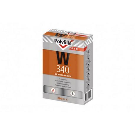 Polyfilla Pro W340 2K Houtprimer set 200ml