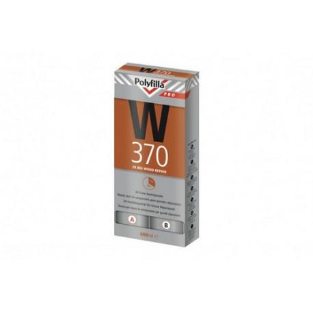 Polyfilla Pro W370 2K Houtreparatiepasta set 600ml
