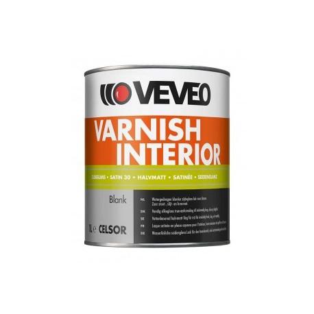 Veveo Celsor Varnish Interior Zijdeglans 1 Ltr Blank