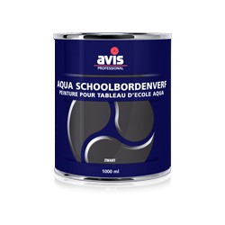Avis Aqua schoolbordenverf zwart 1 liter