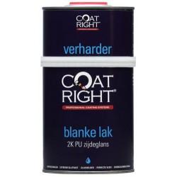 Coatright Aqua 2K PU Blanke Lak Zijdeglans 1 ltr.