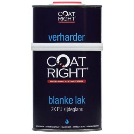 Coatright Aqua 2K Blanke Lak Zijdeglans