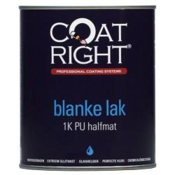 Coatright Aqua 1K Blanke Aflak Halfmat 1 Liter